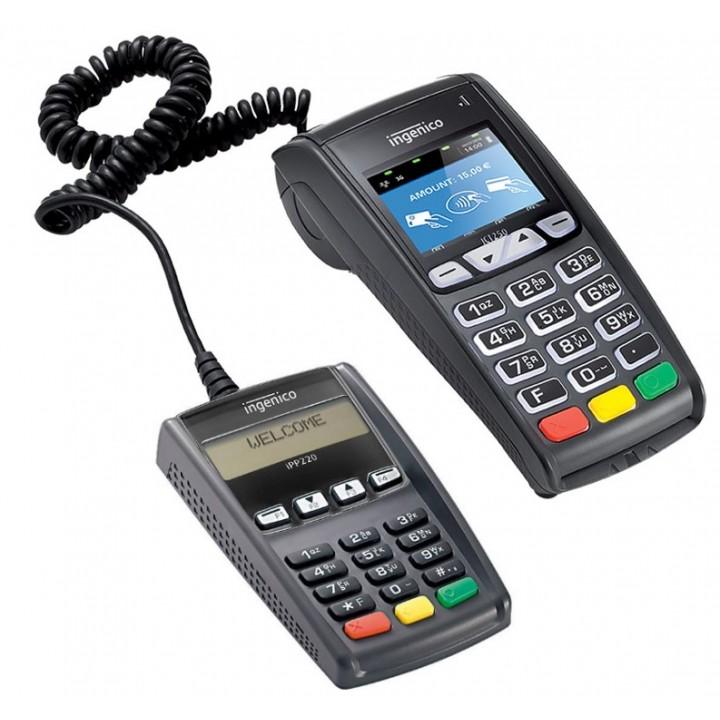Ingenico ICT250 с выносной клавиатурой IPP 220