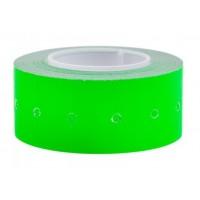 Этикет-лента 21,5х12, цвет зеленый