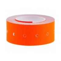 Этикет-лента 21,5х12, цвет оранжевый