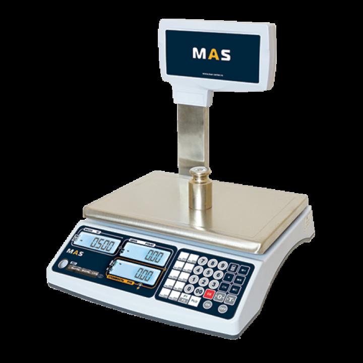 Весы торговые MASTER MR1P